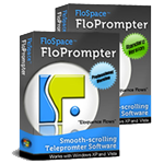 FloPrompter Standard and Professional - Studio-quality teleprompter software
