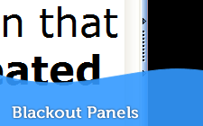 Blackout Panels