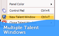 Multiple Talent Windows
